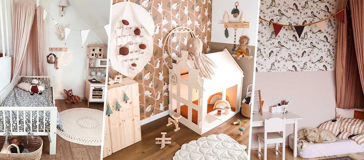chambre de votre enfant qui adore la nature