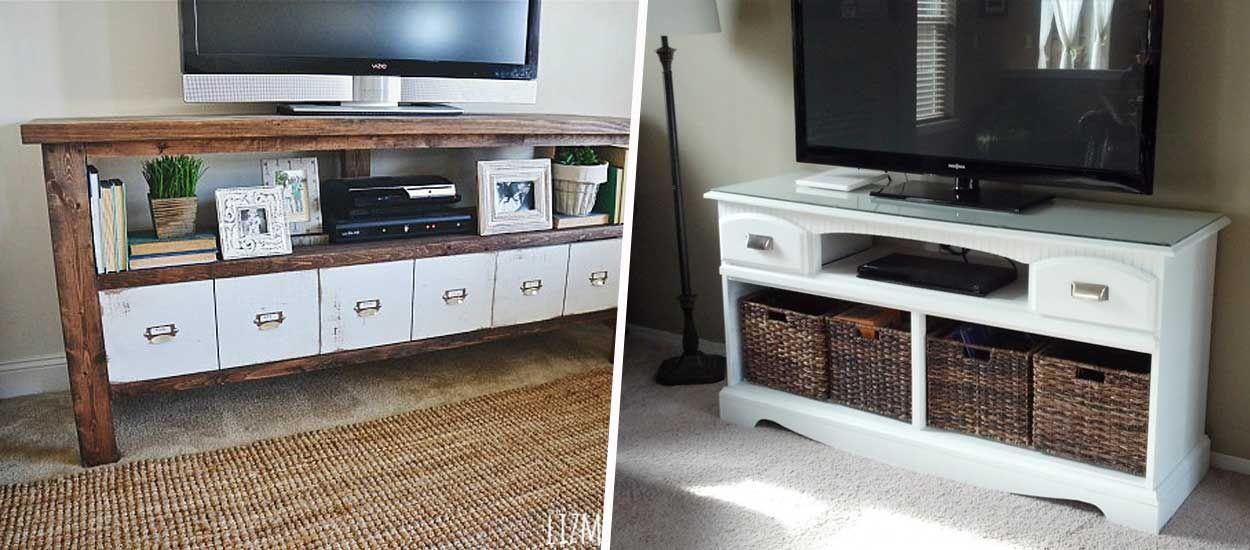 8 idees de meubles tv a faire soi meme