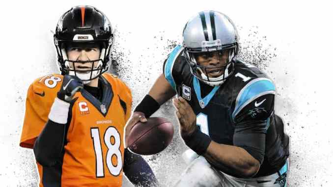 Super Bowl 50: Peyton Manning and Cam Newton