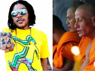 Vybz Kartel and Buddhist Monks