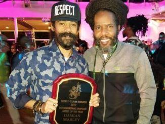 Damian Marley and Garfield Chin
