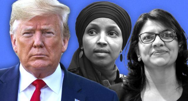 Donald Trump succeeds in getting Muslim congresswomen ban from Israel