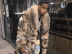 Safaree in fur