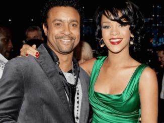 Shaggy and Rihanna