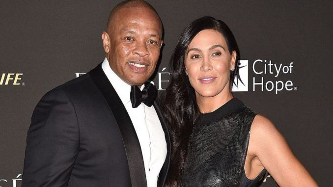 Dr. Dre and wife Nicole Young