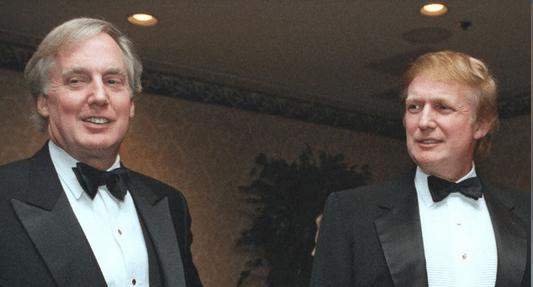 Robert Trump and Donald Trump