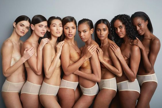 All shades of beauty