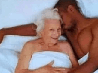 Younger men and older women