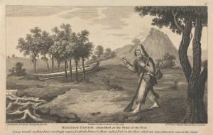 Twelve Illustrations of Robinson Crusoe