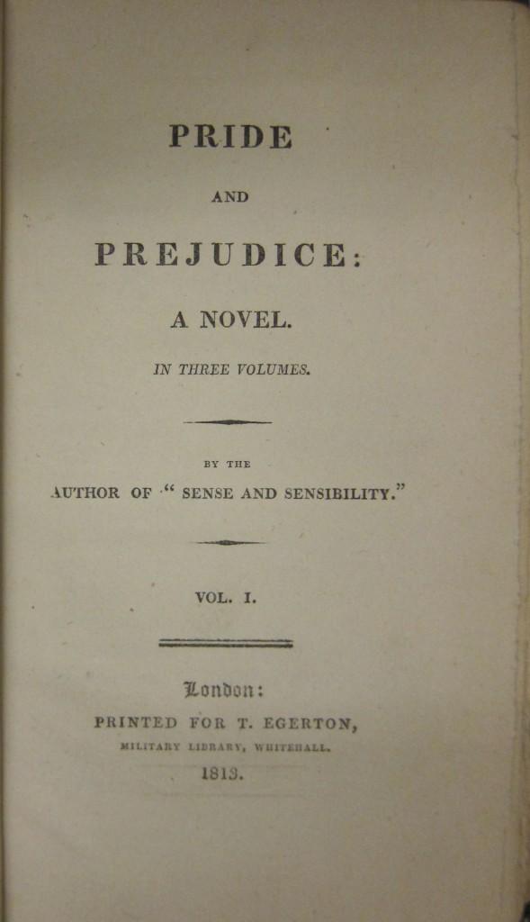 Scholarly essay on pride and prejudice