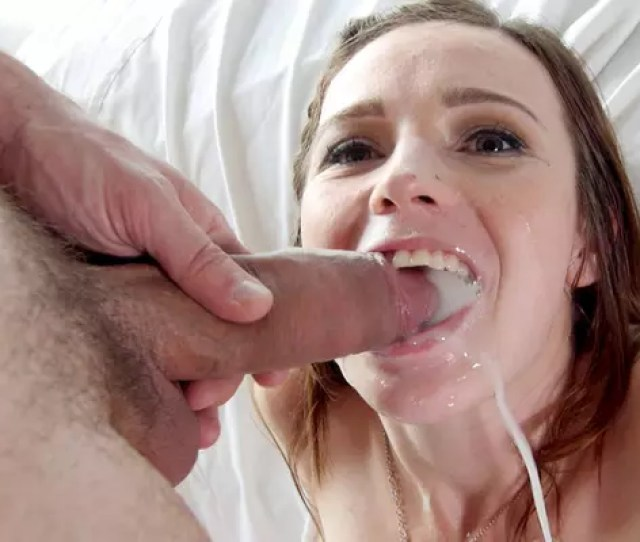 Spoiled Bitch Gets Mouth Full Of Potent Cum