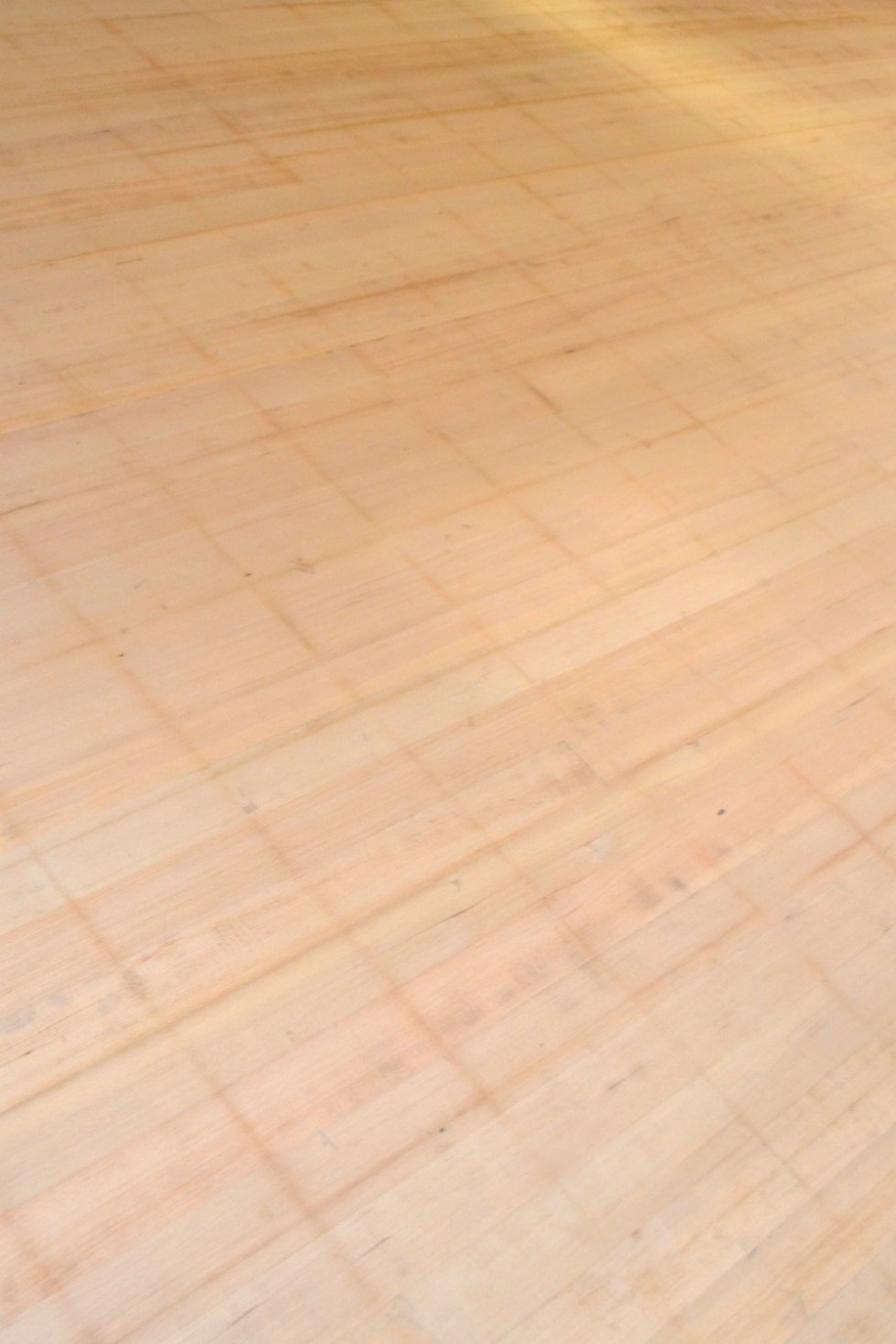 1905 hardwood after removing laminate tile and before stain has been applied