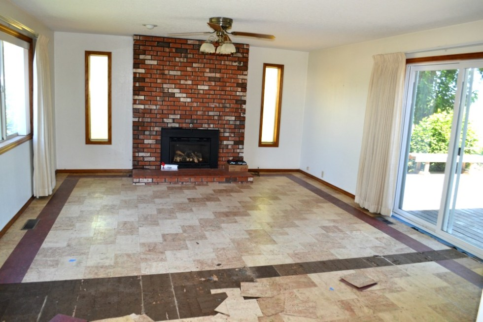 How to remove laminate tiles and the sticky backing to refinish original hardwood floors