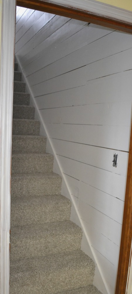 How to remove wallpaper from original 1905 shiplap and transform your space