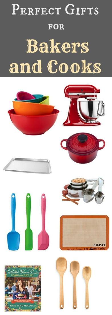 Perfect and practical gifts for the baker or cook that they will be thankful for
