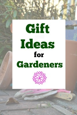 Gift ideas for the gardener to prepare them for the Spring and Summer