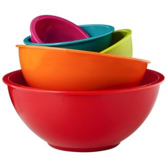 Mixing bowls in all different sizes are great for any cook's kitchen