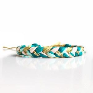 Beautiful silk bracelet by Pretty by JL, great gift for a best friend