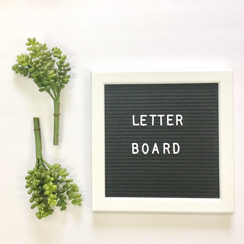 Letterboard available at Wayfair