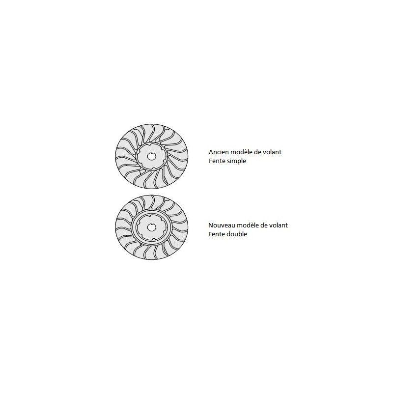 Poulie lanceur Stihl MS 270, MS 270 CB, MS 280, MS 280 CB
