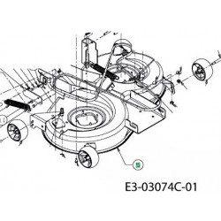 Pièces détachées MTD pour tondeuse, tronçonneuse, taille