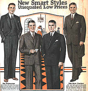 Men's fashion of the 1920s