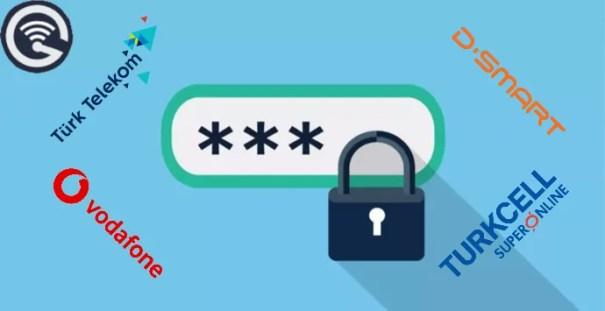 Modem Kullanıcı Adı ve Şifreleri