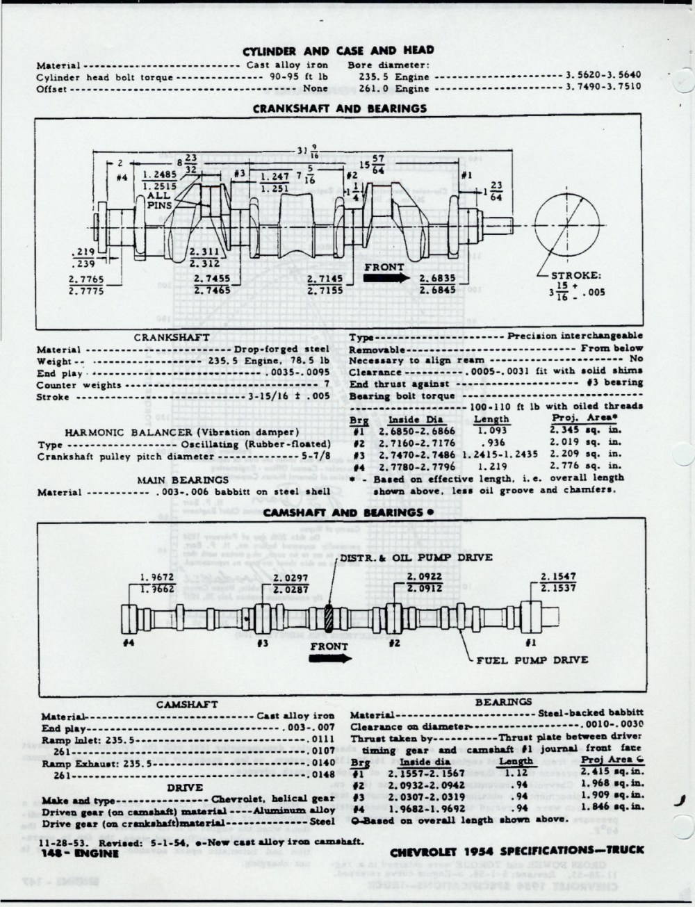 medium resolution of 235 chevy engine wiring diagram wiring library53 chevrolet automobile ac oil filter diagram engine