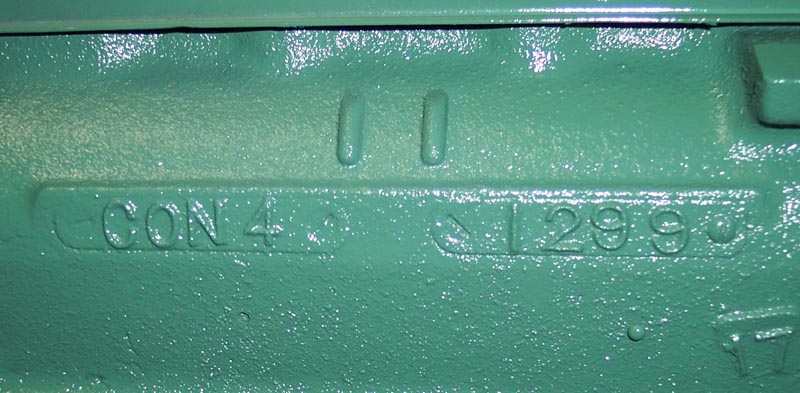 stovebolt codes  261