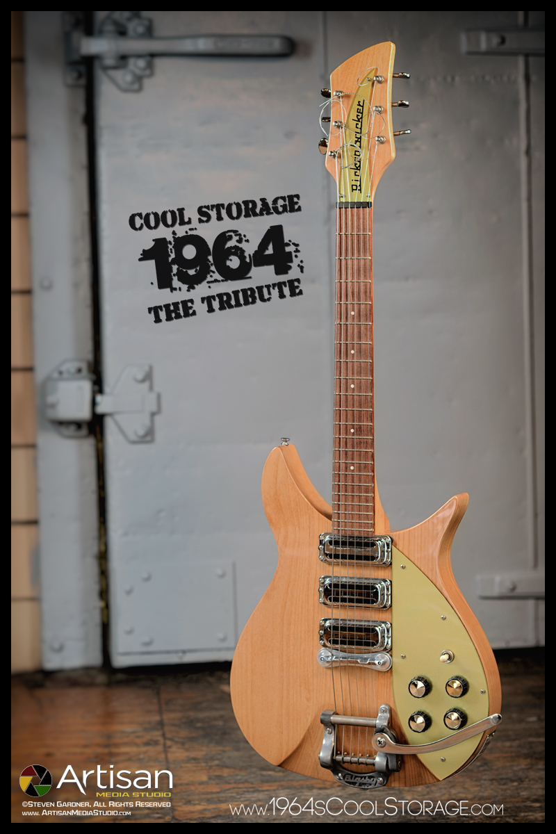medium resolution of this is a 2003 rickenbacker blonde c58 325 re issue with radio knobs and bigsby added circa 1961 this guitar recreates how john lennon s first 325 looked