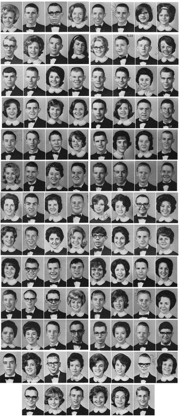 11th Class Photo  Martin High School  Class of 1966