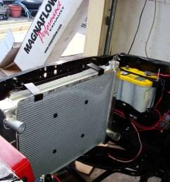 aluminum radiator mounting system photos [ 1024 x 768 Pixel ]