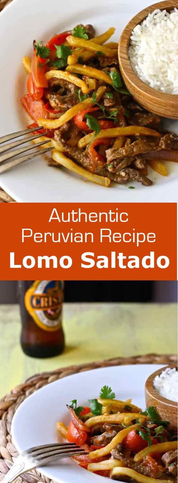 Lomo Saltado Traditional Peruvian Recipe 196 flavors