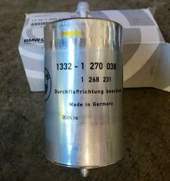 genuine bmw fuel filter  [ 4032 x 3024 Pixel ]