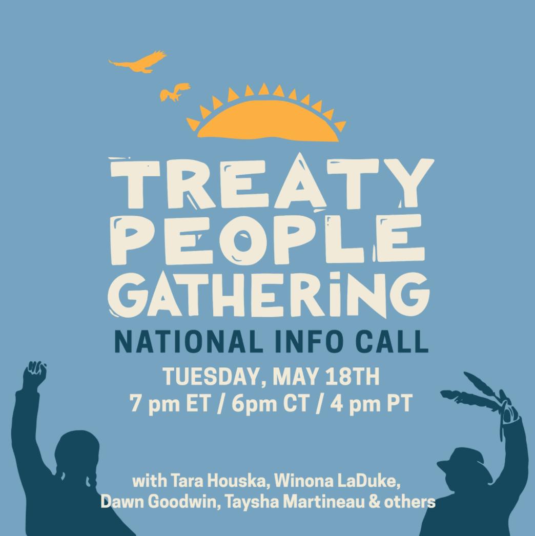 Treaty People Gathering national info call