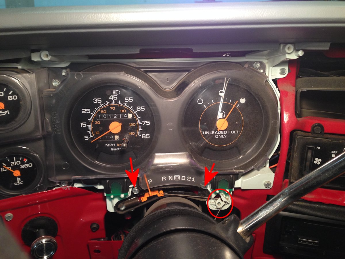 Chevy Truck Instrument Cluster Wiring Diagram On 94 Chevrolet Pickup