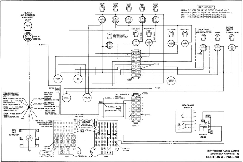 medium resolution of 1990 suburban 2500 wiring diagram wiring diagram info 1990 suburban 2500 wiring diagram