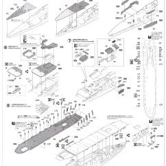Aircraft Carrier Flight Deck Diagram Erp Data Flow Akagi Three Plastic Model Assembly Guide2
