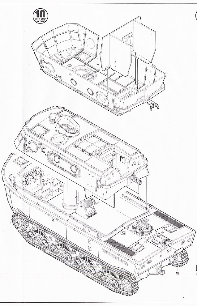 German LWS Amphibious Tractor Early production (Plastic
