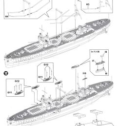 ijn special cargo ship kashino w photo etched parts plastic model assembly guide5 [ 873 x 1200 Pixel ]