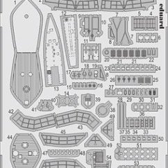 Parts Of A Submarine Diagram Deh P3700mp Wiring Photo Etched For German Type Viic 41 Revell