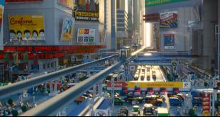 La grande aventure lego panneaux communiste