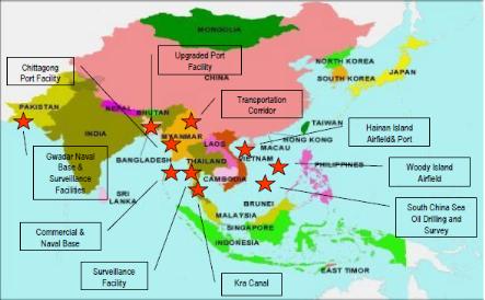 armée chinoise bases