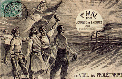 Le mouvement ouvrier en France avant guerre.