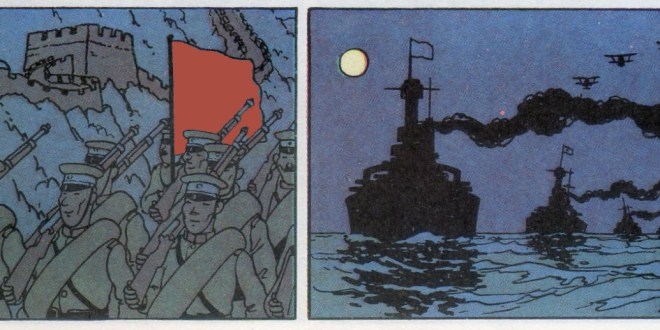 tintin guerre budget militaire