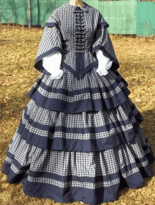 Ladies Dresses Of The 1850s