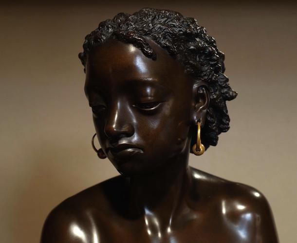Bilderesultat for black girl art statue