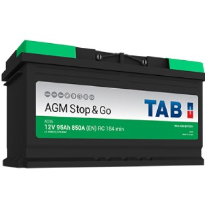 AGM Stop & Go Batterie