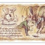 Zu Weihnachten: Zunftbild Steuerberater auf Antikpapier im A4-Format ein prima Geschenk