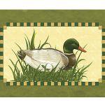 Zu Weihnachten: Fußmatte mit Tiermotiv Ente ein prima Geschenk